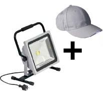 led baustrahler kappe gratis binkele gmbh. Black Bedroom Furniture Sets. Home Design Ideas