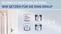 Binkele Gemmingen Farben Tapeten Gardinen Bodenbeläge Grosshandel - SÜDWEST Partner Aktion