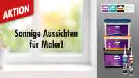 Binkele Gemmingen - Grosshandel für Farben Tapeten Gardinen Bodenbeläge - Henkel Aktion