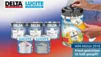 Binkele Grosshandel Farben & Lacke - DELTA & LUCITE WM Aktion 2018