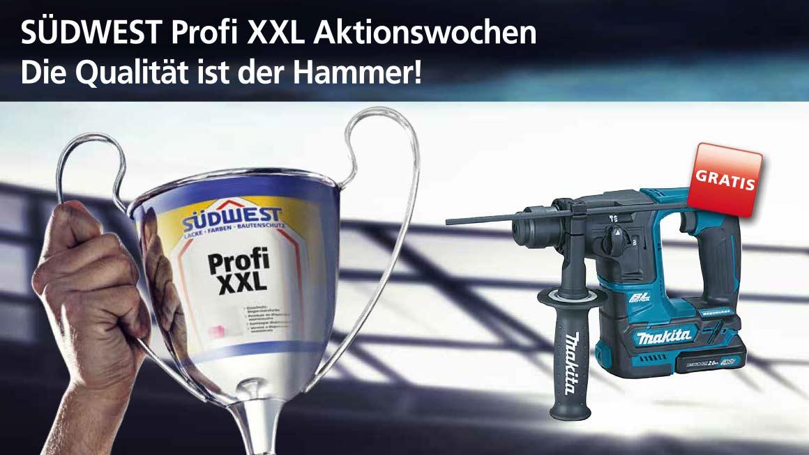 Binkele Farben Großhandel - Makita Akku-Bohrhammer gratis