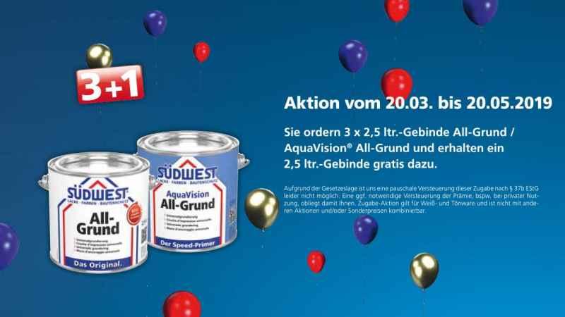 Binkele Grosshandel Farben & Lacke - SÜDWEST All Grund Aktion