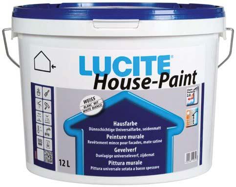 Binkele Farben, Lacke & Malerzubehör - Lucite House Paint