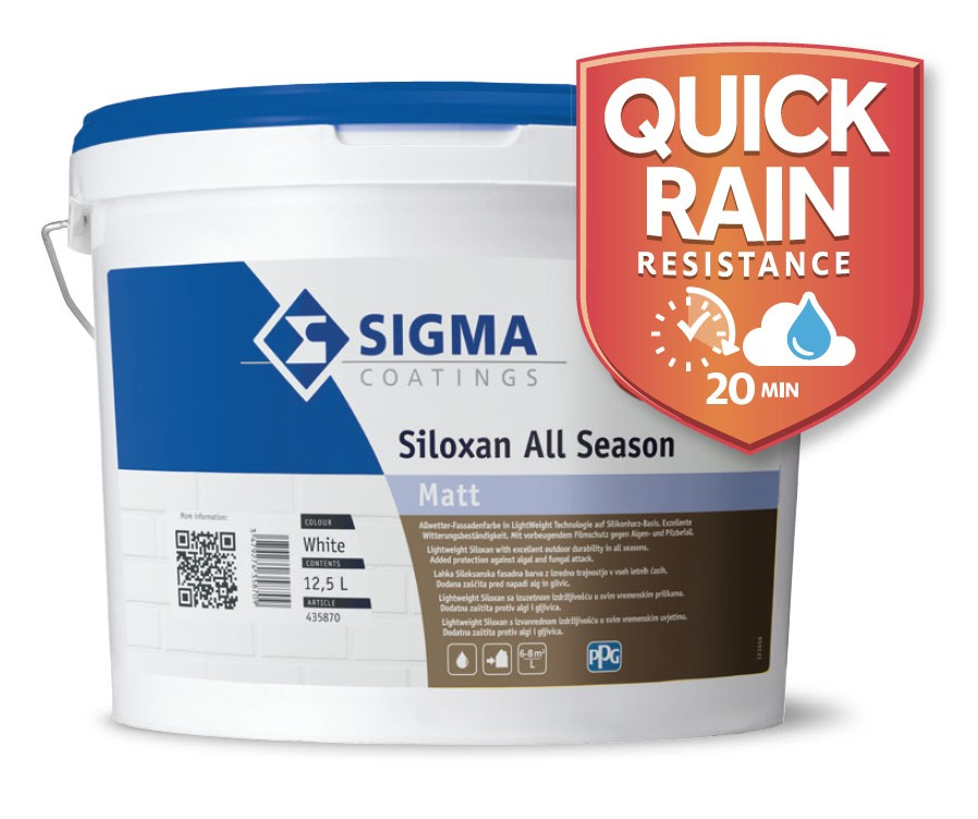 Binkele Farben, Lacke & Tapeten Grosshandel - Sigma Siloxal All Season